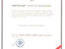 Certificat firma de încredere